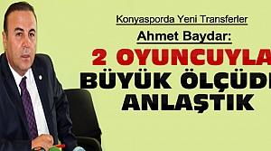 Ahmet Baydar Transferle İlgili Bilgi Verdi