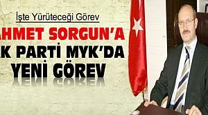 Ahmet Sorgun'a yeni hükümette yeni görev