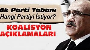 Ak Parti Tabanı Hangi Partiyle Koalisyon İstiyor?