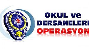 Aksaray'da Dersane ve Okullara Operasyon