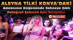 Aleyna Tilki Konya'daki Düğünde Şarkı Söyledi-VİDEO