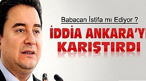 Ali Babacan İstifa mı Edecek?