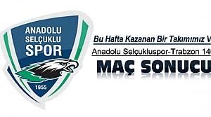 Anadolu Selçukluspor Bu Hafta Galip