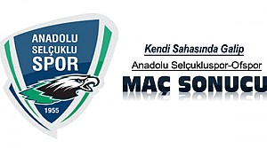 Anadolu Selçukluspor Ofspor Maç Sonucu