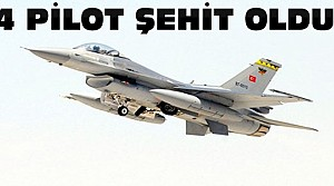 Askeri Uçak Düştü 1'i Konyalı 4 Şehit