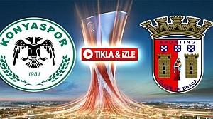 Atiker Konyaspor Braga-ÖZET-VİDEO