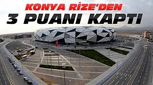 Atiker Konyaspor Çaykur Rizespor Maç Sonucu