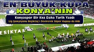 Atiker Konyaspor Süper Kupayı da Aldı