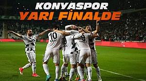 Atiker Konyaspor Yarı Finale Yükseldi