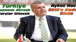 Atiker Konyasporda Başkan Yeniden Ahmet Şan Seçildi