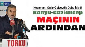 Aykut Kocaman Gaziantep Maçını Değerlendirdi