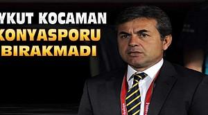 Aykut Kocaman Konyasporu Bırakmadı