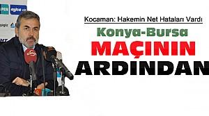 Aykut Kocaman'dan Bursaspor Maçı Açıklamaları
