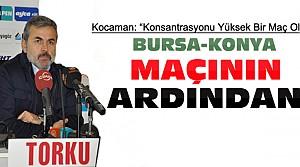 Aykut Kocaman'dan Bursaspor Maçı Açıklaması