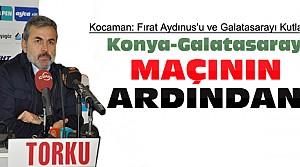 Aykut Kocaman'dan Sitemli Galatasaray Kutlaması