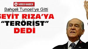 Bahçeli Tunceli'de İsyancı Teröristler Dedi-VİDEO