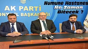 Baloğlu'ndan Numune Hastanesi Açıklaması