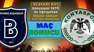 Başakşehir-Atiker Konyaspor Maç Sonucu-VİDEO