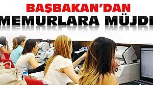 Başbakan Davutoğlu'dan Memurlara Müjde