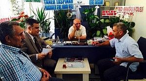 Başkan Özgüven'den Akbel'e Ziyaret