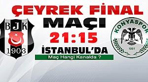 Beşiktaş Konyaspor Maçı Hangi Kanalda ?