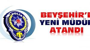 Beyşehir'e yeni emniyet müdürü atandı