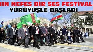 """""""Bin Nefes Bir SES"""" Tiyatro Festivali Başladı"""