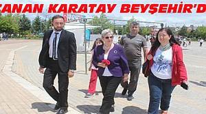 Canan Karatay Beyşehir'de Kitaplarını İmzaladı