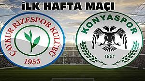 Çaykur Rizespor Atiker Konyaspor Maç Sonucu