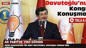 Davutoğlu Büyük Kongre'de Konuştu-VİDEO