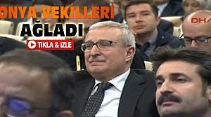 Davutoğlu konuştu Konya vekilleri ağladı-VİDEO