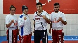 Derbentli Kick Boksçular Şampiyonada Ter Dökecek