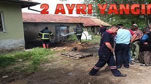 Derebucak ve Beyşehir'de Yangın