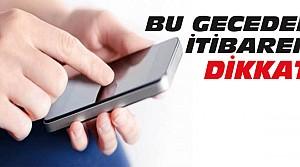 Dikkat:GSM Şirketleri Zamlı Tarifeye Geçiyor