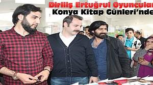 Diriliş Ertuğrul Oyuncuları Konya'ya Geldi