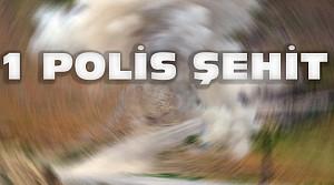 Diyarbakır'da Hain Saldırı:1 Polis Şehit