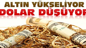 Dolar Dibe Vurdu Altın Yükseldi