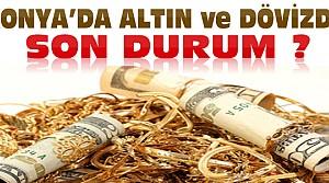 Dolar Uçuyor-Konya'da Çeyrek Altın Ne Kadar Oldu?