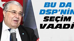 DSP'den Şaşırtan Seçim Vaadi