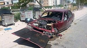 Konya'da Ehliyetsiz Sürücü Ölümden Döndü