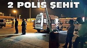 Emniyet Müdürlüğüne Saldırı:2 Polis Şehit
