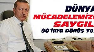 Erdoğan Uçakta Gazetecilerin Sorularını Cevapladı