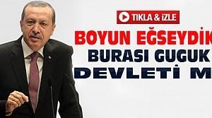 Erdoğan'dan AB'ye Sert Sözler-VİDEO