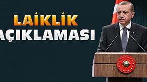 Erdoğan'dan Hırvatistan'da laiklik açıklaması