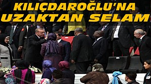 Erdoğan'dan Kılıçdaroğlu'na Uzaktan Selam