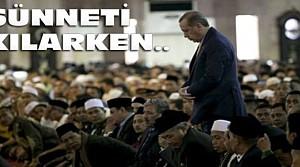 Erdoğan'ın Cuma Namazını Dikkatle İzlediler