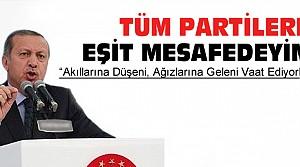 Erdoğan:Kılıçdaroğlu Bol Keseden Atıyor