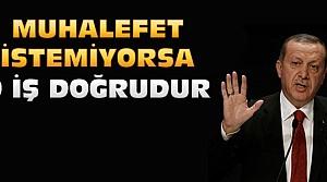 Erdoğan:Paralel Yapı Montajda Ustadır