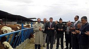 Ereğli Protokolünden Hayvan Çiftliğine Ziyaret
