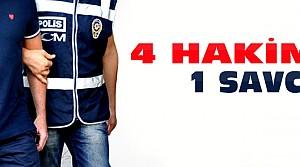 Ereğli'de 4 Hakim 1 Savcıya Gözaltı